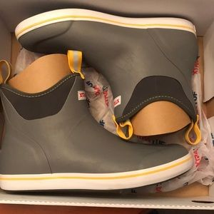 XtraTuf 22735 Ankle deck boot grey/yellow